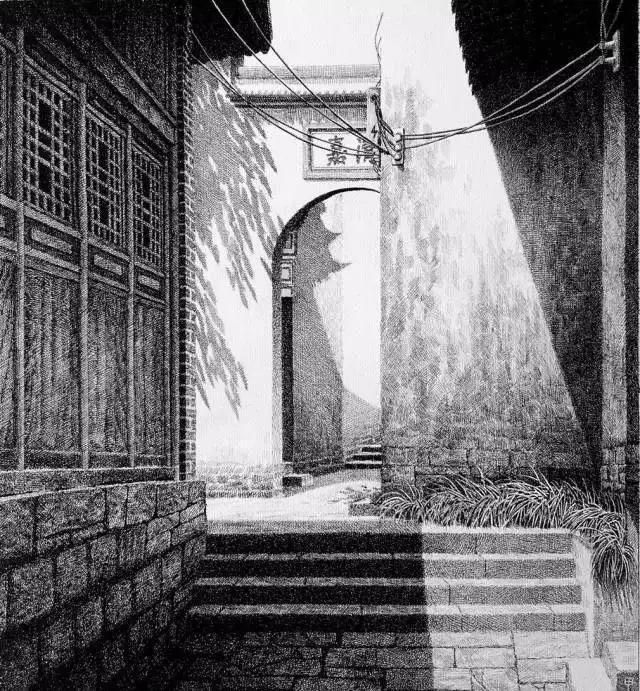 山西小伙高中辍学,用一支圆珠笔画出最美中国,3000万人打call:太美了!我妈问我为什么跪着看……
