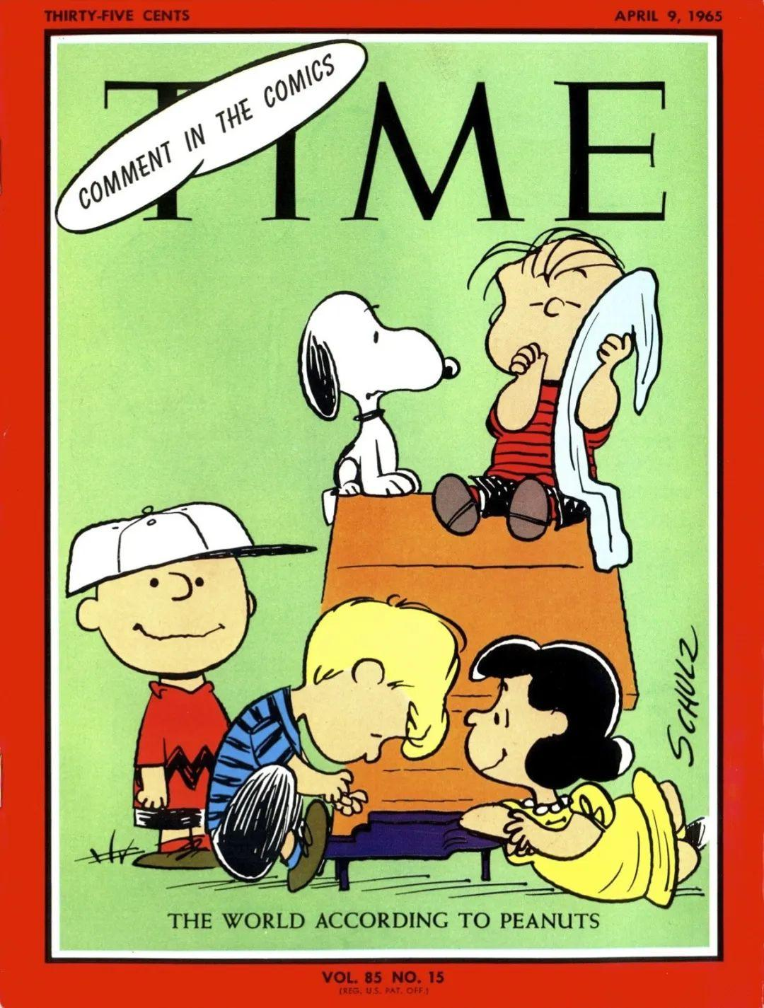 70年后才发现,原来史努比的漫画不叫史努比
