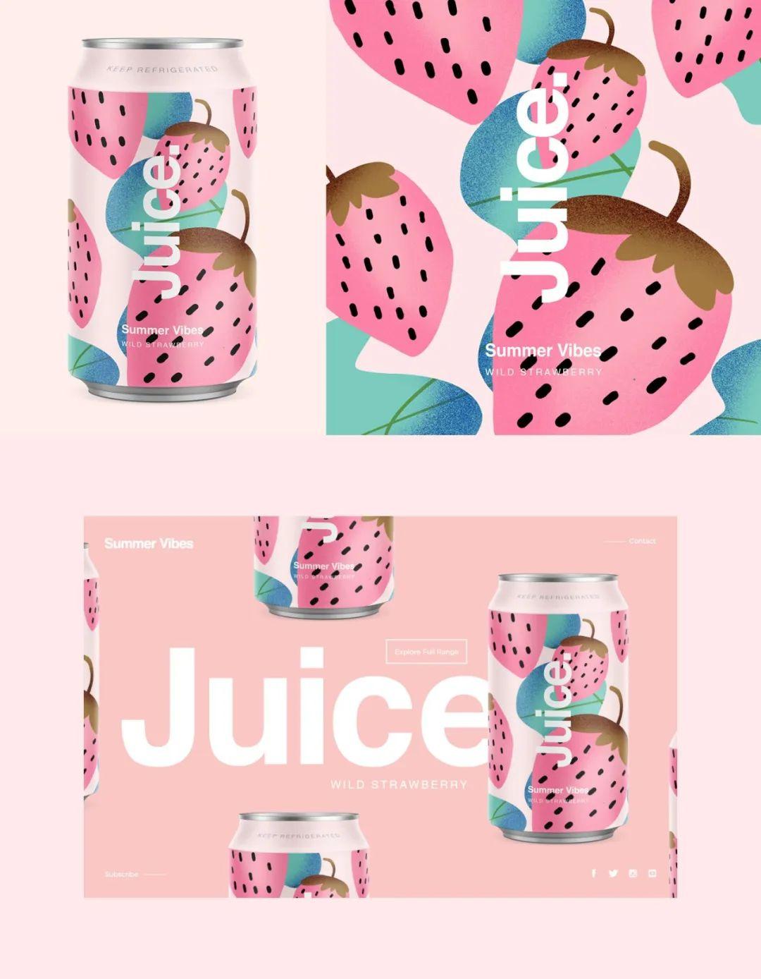 Adobe出饮料了?蓝莓味的PS,橙味的AI,黑加仑味的AE,你要哪个?