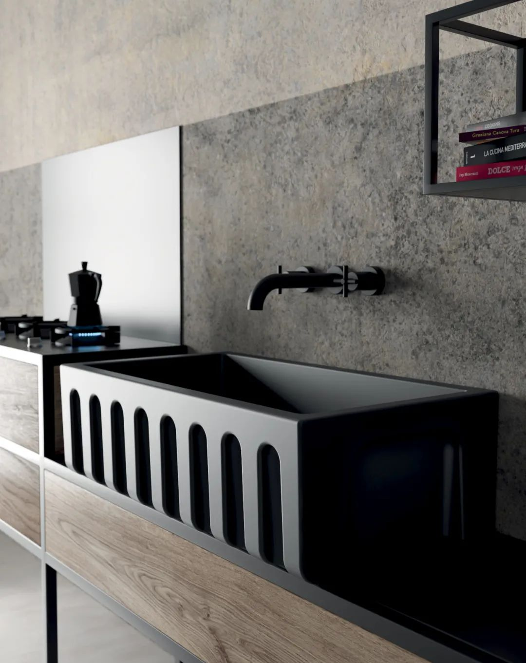 10 款厨房水槽设计,太高级了