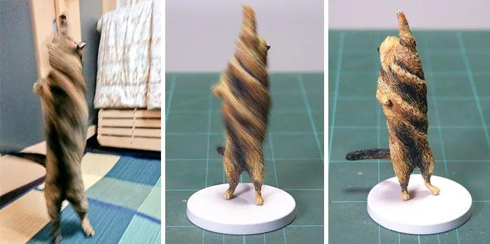 图集   各种网络搞笑动物,全被做成手办了哈哈哈~