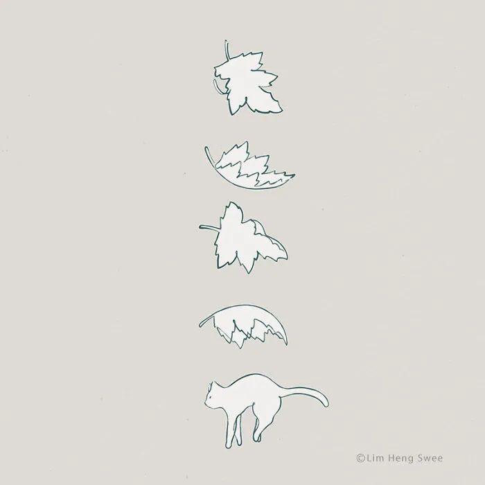 为什么这么多人喜欢猫?看完这组插画,你就能懂了
