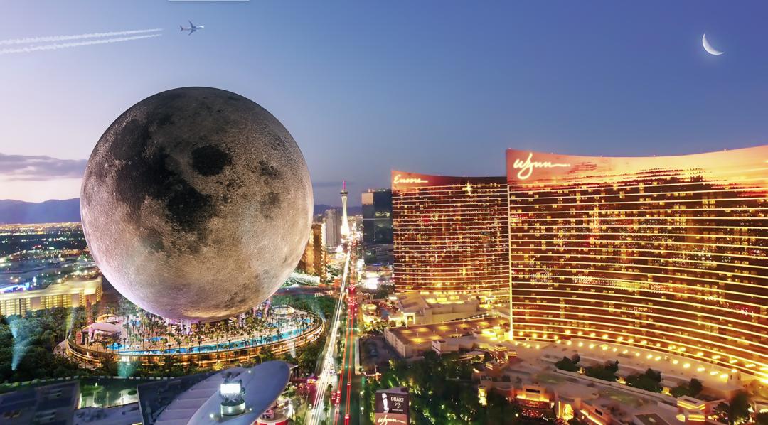 真正球形建筑!拉斯维加斯又要造个月亮