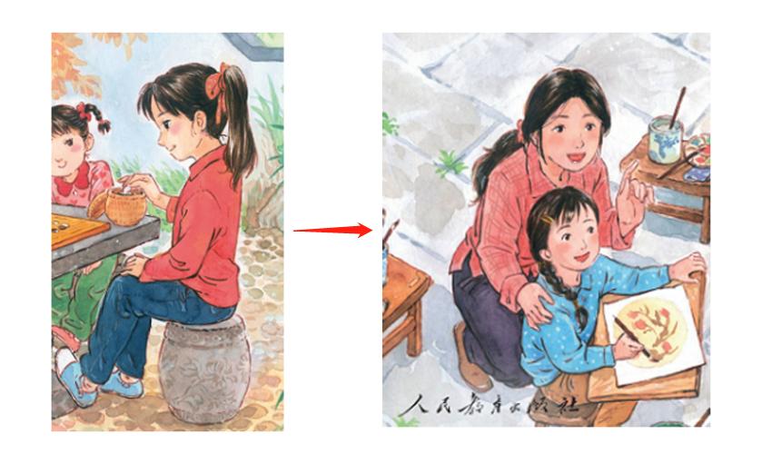 小学语文课本封面设计火了!网友:二胎变三胎?